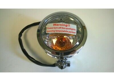 Factory Products, Chrome Spot Light WITH Turn Signal SOLD AS A PAIR