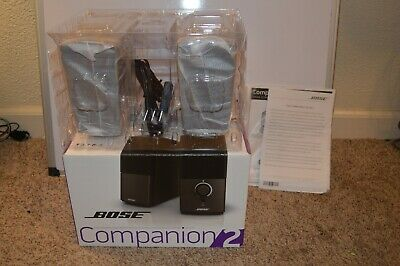 Bose Companion 2 Series III Multimedia Speaker System -Black (Open Box)