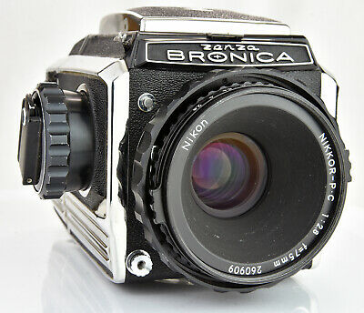 Bronica S2A with Nikkor P.C 75mm F2.8 Lens