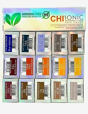 CHI Ionic Permanent Shine Hair Color - Ammonia + PPD Free