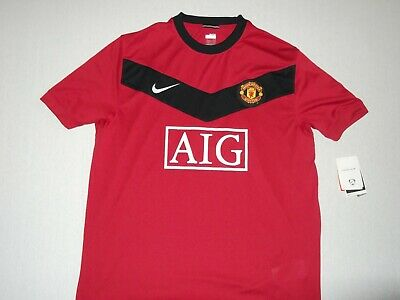 Manchester United Vintage 2009/10 Red Home Nike Football Shirt X Large S/S BNWT