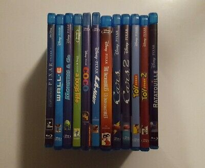 Lot Bluray : WALT DISNEY - PIXAR : 12 Films - COCO, 1001 PATTES, INDESTRUCTIBLES