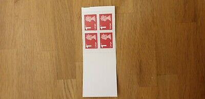 Royal Mail Stamps Large letter 1st class x 4 new adhesive