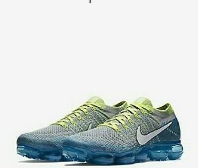 New Nike Air Vapormax Flyknit Sprite  849558 022 Size 10.5 NO BOX TOP