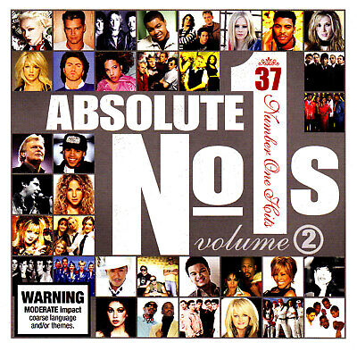 (70s-80s-90s) THE ABSOLUTE NUMBER 1 HITS - VOLUME 2 / VARIOUS ARTISTS - 2 CD SET