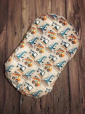 Snuggle Me Organic Cover Baby Lounger Sleeper Pillow Slip Case Feather Girl