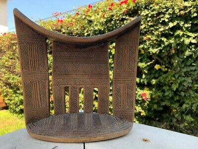 Ancient Egyptian Wooden Pillow Antique