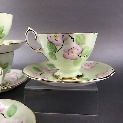 1 Of 4 Royal Albert Evangeline Bone Teacup & Saucer England Tea Cup Vintage