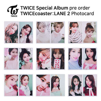 TWICE - Special Album TWICEcoaster : LANE 2 Official Photocard (Preorder)