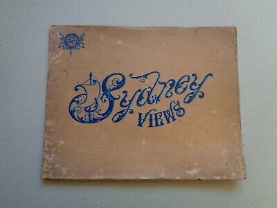 Sydney Views See Australia First Turner Henderson Vintage Souvenir Tourist Book