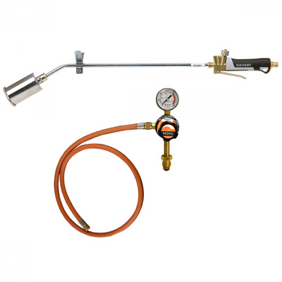 Sievert Pro 88 Torch Heating Kit with 4m Hose and 500mm Long Handle