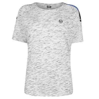 Sergio Tacchini Womens Zamai Tee Ladies Crew Neck T-Shirt Top