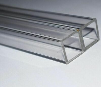 Square Clear Acrylic Plexiglass Lucite Plastic Acrylic Tube Select 10 - 170mm