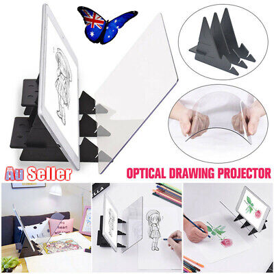 Optical Imaging Painting Board Panel Tracking Sketch Drawing Mirror Copy Plate