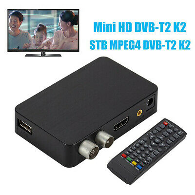 Mini ricevitore DVB-T2 STB MPEG4 H.264 3D Video Digital 1080P HD Set-Top TV Box