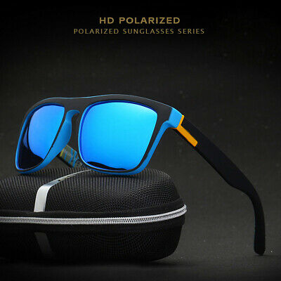 DUBERY MENS Polarized Sunglasses Outdoor Sport Cycling Driving UV400 Sun Glasses