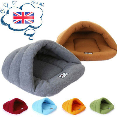 Pet Cat Dog Bed Puppy Cushion Soft Warm House slippers Kennel Mat Blanket large