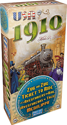 Ticket to Ride: USA 1910 Expansion, Family Board Game