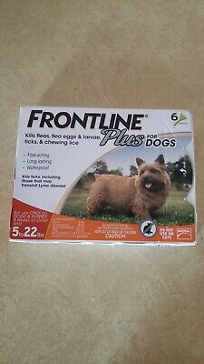 Merial Frontline Plus Flea & Tick Control For Small Dogs 5-22 lbs