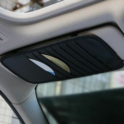 Car Sun Visor CD DVD Card Case Holder Organizer Clipper Bag Hold 12 Disk