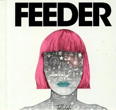 FEEDER - Tallulah (Deluxe Edition) - CD (CD in hard-back book sleeve)