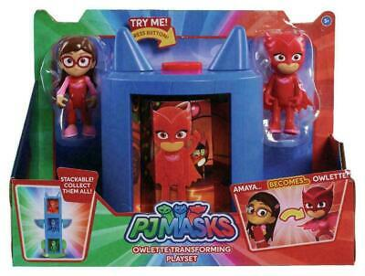 PJ Masks Owlette Transforming Playset with Amaya & Owlette Action Figures