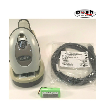 LS4278 Kit; Scanner, Cradle, New Cable, & New Battery!  Free Same Day Shipping!
