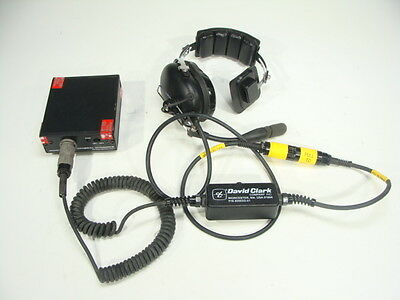 David Clark General Dynamics Communications Headset for MBITR AN/PRC-148 & More
