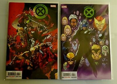 HOUSE OF X #4 POWERS OF X #4  REGULAR COVERS.Mint Condition Bagged and Boarded.