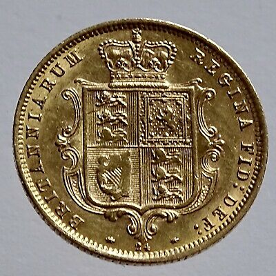 Half Sovereign 1874 Young Head Die 24
