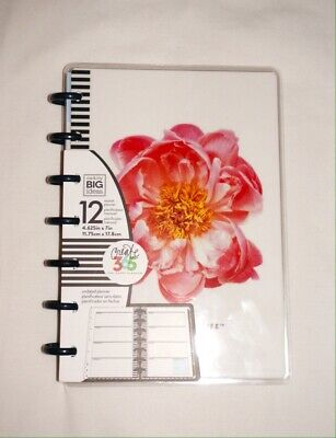 **New Create 365 Mambi The Happy Planner Mini 12 Month Undated Flower Planner**
