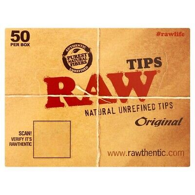 Raw Original Natural Unrefined Tips