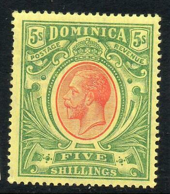 DOMINICA 1914 GV 5s LMM SG 54 Cat. £60