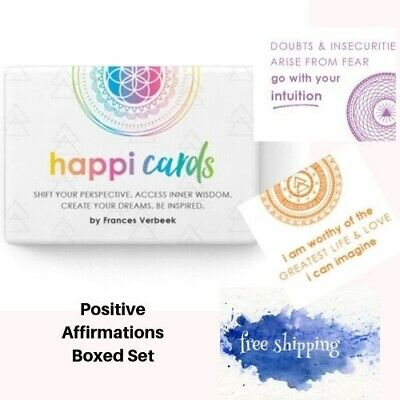 Positive Affirmation Cards Happi Daily Affirmations Cards Adults Teens