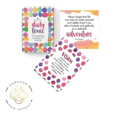 Positive Affirmation Cards Daily Tonic  For Life Uplifting Inspirational