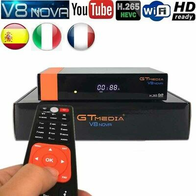 GTMEDIA V8 Nova (New V8 Super) DVB-S2 Satellite Receiver HD 1080P Set Top Box