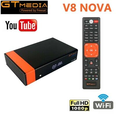 GTMEDIA V8 Nova (Nuevo V8 Super) Receptor satelital DVB-S2 HD 1080P Set Top Box