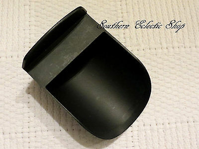 Tupperware Rocker Scoop for Canisters Modular Mates Flour Sugar Dry Beans Black