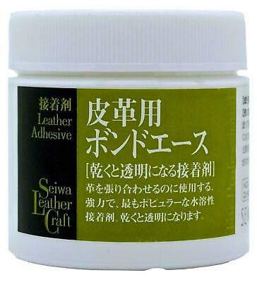 Seiwa Leathercraft Water Based Cement Glue Bond Adhesive for Leather 100ml