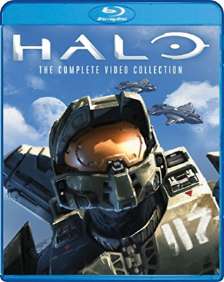 HALO: THE COMPLETE VIDEO CO...-HALO: THE COMPLETE VIDEO (US IMPORT) Blu-Ray NEW