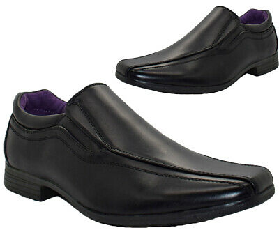 Mens US BRASS Slip On Shoes Office Party Wedding Formal Smart Dress Shoes Sz6-12