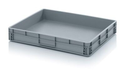 Euro Containers 80x60x12 Stacking Storage Box Eurobox Stackable 800x600x120 45l