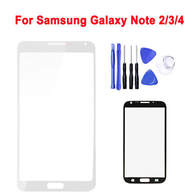 Touch Screen Replacement Outer Front Glass Lens For Samsung Galaxy Note 2 3 4