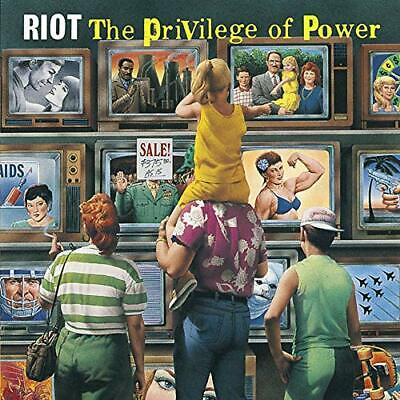 Riot-Privilege Of Power (Us Import) Cd New