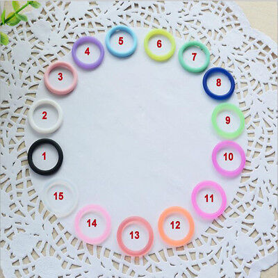 5pcs/Set O-Rings Silicone Baby Dummy Pacifier Chain Clips MAM Adapter Holder TTW