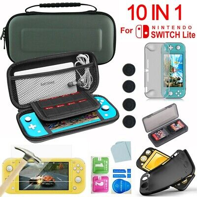 For Nintendo Switch Lite Carrying Case Bag/Shell Cover/Cable/Screen Protector