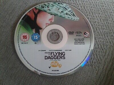 House Of Flying Daggers (DVD, 2005, 2-Disc freepost in very good condition
