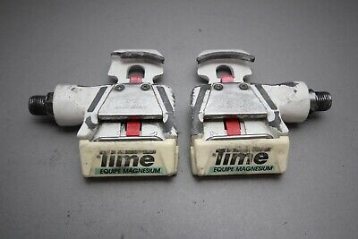 TIME Equipe Magnesium Bioperformance Pro Racing Pedals / '90ies / 402g / white