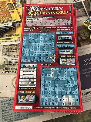 (450)  California Lottery tickets $10 Second Chance Scratchers 2nd Redeemable