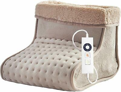 Dreamland 16466 Luxury Heated Foot Warmer with 5 Temperature Settings